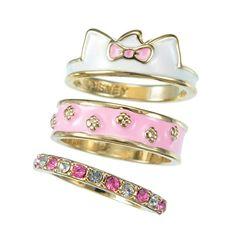 Ser of 3 rings of Marie | The Aristocats | Disney Style | set de 3 anillos de Marie | Los Aristogatos | @dgiiirls