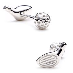 Golf enthusiast will fall in love with these cufflinks.
