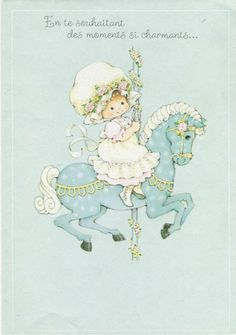 Vintage 1970s French Birthday Greeting Card by ValinthePaperValley, $3.00