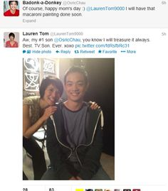 Kevin Tran wishing Mrs. Tran happy mother's day :) - Best TV son ever. Kevin Tran, Osric Chau, The Cw Tv Shows, Bobby Singer, Why I Love Him, Supernatural Fandom, Misha Collins, Destiel, E Cards