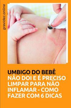 Coto umbilical - Como limpar o umbigo do bebe