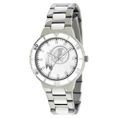 Women's Game Time NFL Pearl Sports Watch - Silver -