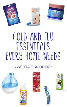 This is a great list of Cold and Flu Essentials Every Home Needs - I've never thought of some of these.