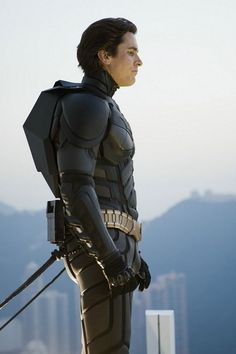 Christian bale batman ...JUST YES