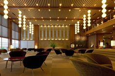 Sayonara, Hotel Okura. Loving the aesthetics, interior design and Japanese culture placed in the creation of the Hotel Okura in Tokyo. Sad to see it being reconstructed. More photos here: http://blog.la76.com/2015/10/sayonara-hotel-okura/?utm_content=bufferac131&utm_medium=social&utm_source=pinterest.com&utm_campaign=buffer - via LA76 Design Blog  #japan #japanese #aesthetics #aesthetic #design #interiordesign #architecture #culture #interiordesign