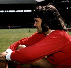 George Best del Manchester United en 1971.