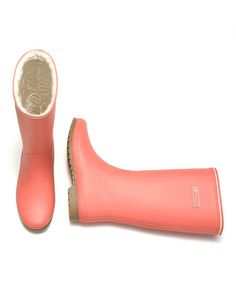 Another great find on #zulily! Fresh Salmon Kelly Vinter Rain Boots - Women by Tretorn #zulilyfinds