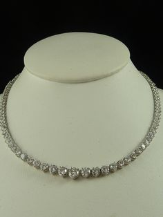 choker (diamond/cubic zirconia)