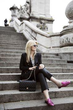 PRODUCT: http://toral-shoes.com/stores/es/mocasines/116-pink-loafer.html  #pink #leather #loafer #shoes #fashion