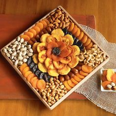 Gourmet Dried Fruit and Nut Snack Gif...