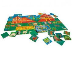 http://www.giocagiomassa.it/giochi-per-lo-sviluppo-del-linguaggio/ VARIALAND SELECTA dai 3 anni. Utile per lo sviluppo del linguaggio, perchè? Per giocare con il genitore a nominare le cose, creare paesaggi, raccontare storie