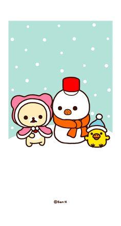 まいにちリラックマ オリジナル壁紙が選び放題[スゴ得] Kawaii Cute Wallpapers, Kawaii Wallpaper, Rilakkuma Wallpaper, Tumblr Couples, Stationery Companies, Japanese Stationery, Tsumtsum, All Things Cute, Christmas Wallpaper