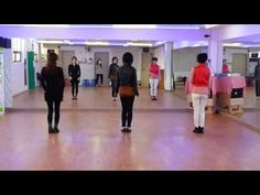 Let's Twist Again - line dance (demo & count) - YouTube