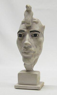 small neat Akhenaten head