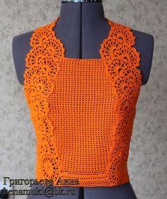 Fabulous Crochet a Little Black Crochet Dress Ideas. Georgeous Crochet a Little Black Crochet Dress Ideas. Débardeurs Au Crochet, Pull Crochet, Mode Crochet, Irish Crochet, Crochet Stitches, Crochet Tops, Black Crochet Dress, Crochet Jacket, Crochet Blouse