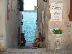 Down to the Sea, Rovinj, Croatia