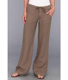 Linen pants.