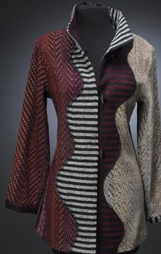 Neat pattern idea for a pieced garment -- Patricia Palson