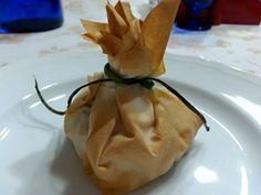 Cipolla Ripiena in Pasta Fillo