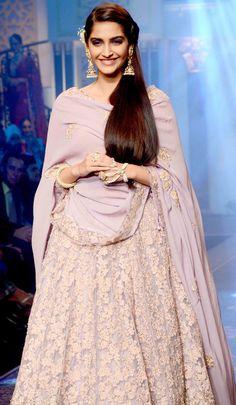 Sonam Kapoor at the India International Jewellery Week 2015.