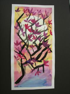 good quick paint project....use with cherry blossoms?