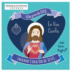 """""""Sagrado Corazón de Jesús en Vos confío"""""""
