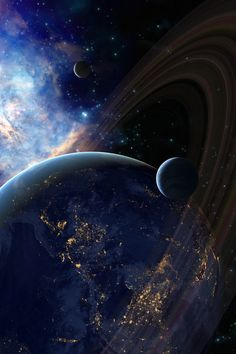 Saturn, glorious universe
