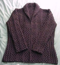 Ravelry: wildwooder's Saxon Cable Coat