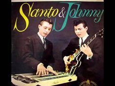 Santo & Johnny - Sleep Walk (with lyrics) One of the great instrumentals of the fifty's.