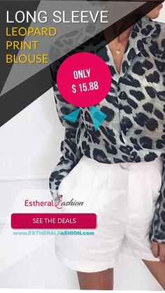 Buy Now ! Trendy Collection, Printed Blouse, Buy Now, Collections, Long Sleeve, Sleeves, Stuff To Buy, Fashion, Moda