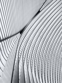 Calatrava lines VI by jefvandenhoute, via Flickr