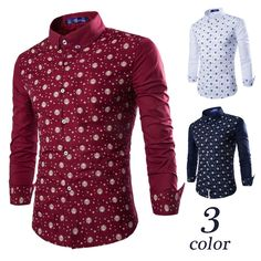 2017 new European and American all-match Mens skeleton Star printing long sleeve shirt