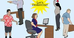 Exercises to do at work  http://time.com/4019563/exercise-work-desk/?xid=newsletter-brief