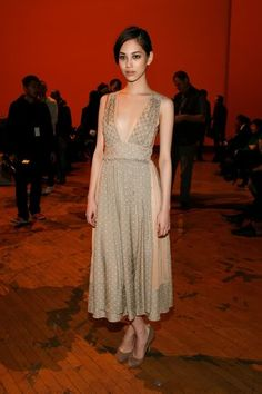 Kiko Mizuhara attends the Marc by Marc Jacobs Fall 2011 fashion show during Mercedes-Benz Fashion Week at N.Y.