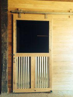 New stall door