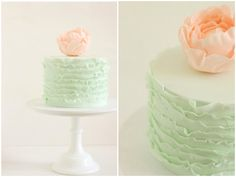 Hello Naomi: Modern, Chic Wedding Cakes - Bridal Musings Wedding Blog