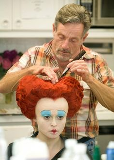 Behind the scenes - alice-in-wonderland-2010 Photo