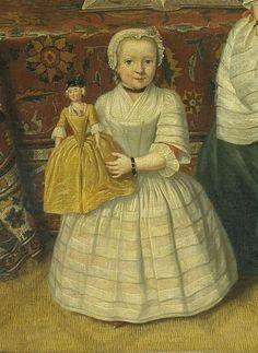 Tibout Regters (1710 – 1768) - The Amsterdam Mennonite Brak family (detail), 1752. Rijksmuseum