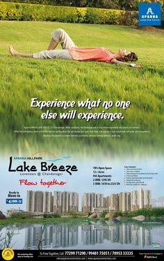 Aparna HillPark Lake Breeze - Andhra Jyothi  07 Feb 2016
