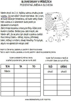 Martina Chlumová's media statistics and analytics Numbers For Kids, Grammar, Montessori, Homeschool, Letters, Teaching, Activities, Education, Letter