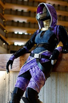 Mass Effect cosplay: Tali