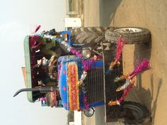 Traditional Indian Race Car on the way to F1 @ Noida in 2011 !!