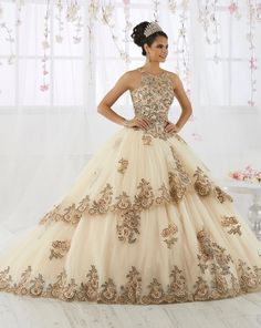 5e0f0aef19 Lace Embroidered Illusion Quinceanera Dress by House of Wu 26912 – ABC  Fashion