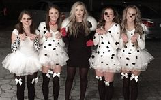 Dalmatiner Kostüm selber machen | Kostüm Idee zu Karneval, Halloween & Fasching
