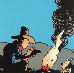 Tintin in America // you can never have enough cowboy!tintin, in my opinion