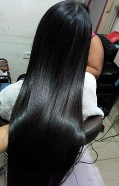 JinglesHair Brazilian Straight Virgin Hair Bundles with Closure inches Unprocessed Remy Human Hair Natural Color 1940s Hairstyles, Weave Hairstyles, Straight Hairstyles, Black Hairstyles, Layered Hairstyles, Long Dark Hair, Very Long Hair, Thick Hair, Beautiful Long Hair