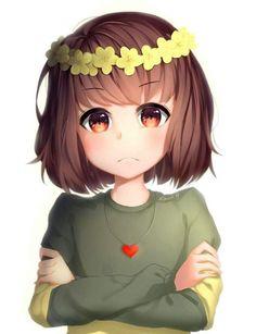 Chara is so cute! Undertale Comic, Undertale Fanart, Chara, Fan Art, Little Misfortune, Fandom, S Pic, Cute Art, Memes