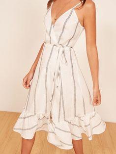 Stitch Fix summer 2018 outfit, striped dress