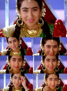 Karisma Kapoor Karisma Kapoor, Madhuri Dixit, Bollywood Actress, Crown, Actresses, Celebrities, Lady, Fashion, Female Actresses