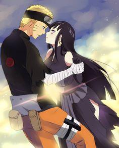 Naruto - Naruto Uzumaki x Hinata Hyuuga - NaruHina Anime Naruto, Naruto Und Hinata, Naruto Cute, Hinata Hyuga, Manga Anime, Kakashi, Uzumaki Family, Naruto Family, Naruto Couples